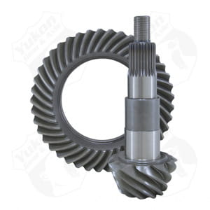 "High performance Yukon Ring & Pinion gear set for Ford 7.5"" in a 4.56 ratio"